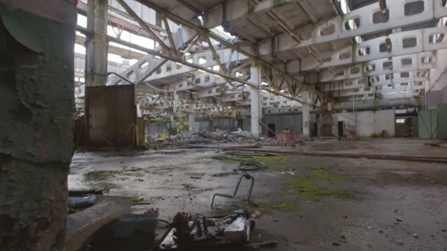 stockvideo's en b-roll-footage met factory jupiter, prypjat, chernobyl - kernramp van tsjernobyl