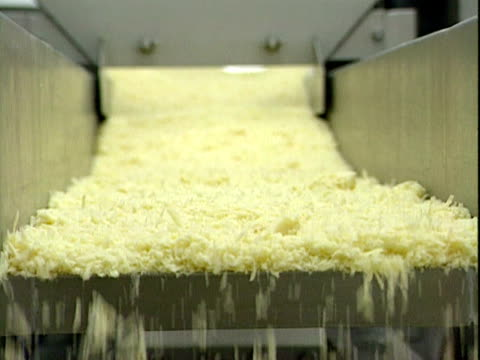 a factory production line producing readymade quiches 1999 - ready to eat stock videos & royalty-free footage