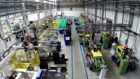 工場 - 内部点の映像素材/bロール