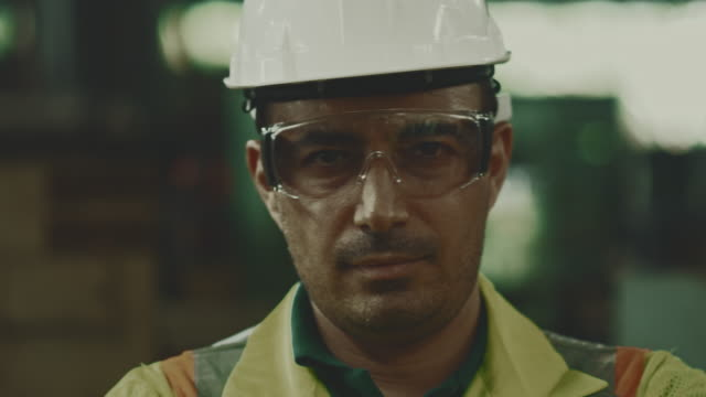 factory worker - helmet stock videos & royalty-free footage