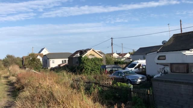 faded seaside village jaywick has been named as the most deprived neighbourhood in england for a third time in a government report the essex town... - scratched stock videos & royalty-free footage