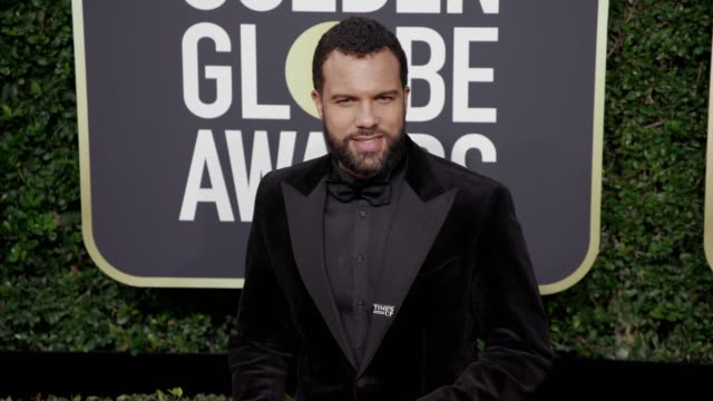 O T Fagbenle at the 75th Annual Golden Globe Awards at The Beverly Hilton Hotel on January 07 2018 in Beverly Hills California