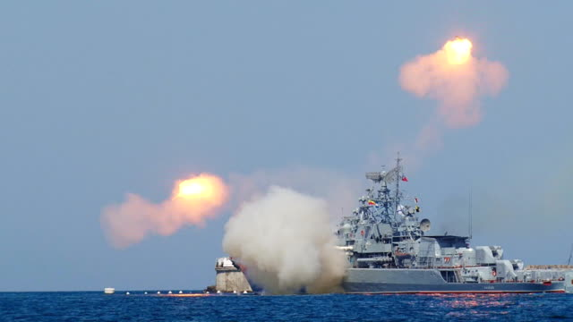 failed rocket launch from a warship - missile stock videos & royalty-free footage