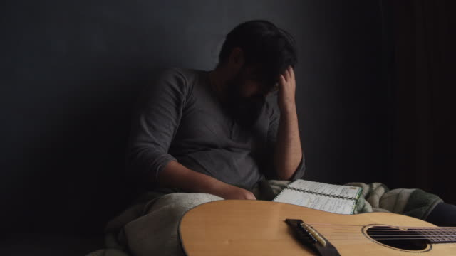 failure :  songwriter - musician stock videos & royalty-free footage
