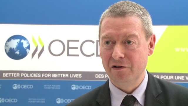 failure to raise the us borrowing ceiling due to political deadlock could force most of the leading industrial democracies into recession the... - oeec video stock e b–roll