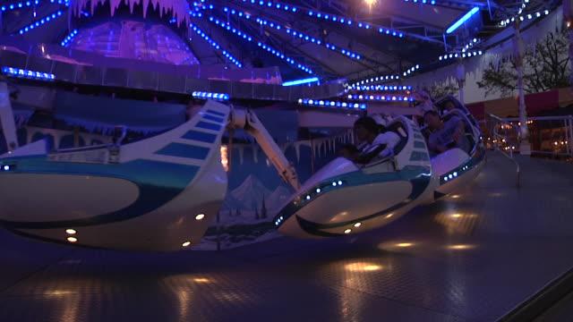 Fairground attractions in Leiden