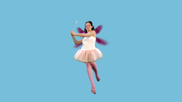 fairy flying + alpha - fairy stock videos & royalty-free footage