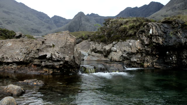Fairy Pools On The Isle of Skye Scotland
