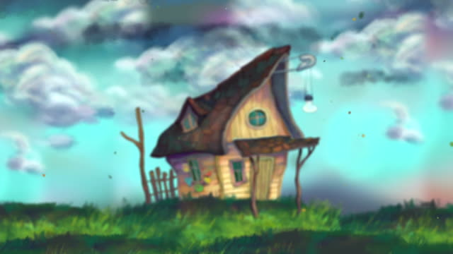 fairy tale house - mystery stock videos & royalty-free footage