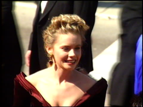 faith ford at the 1989 emmy awards outside at the pasadena civic auditorium in pasadena california on september 17 1989 - awards ceremony stock videos & royalty-free footage