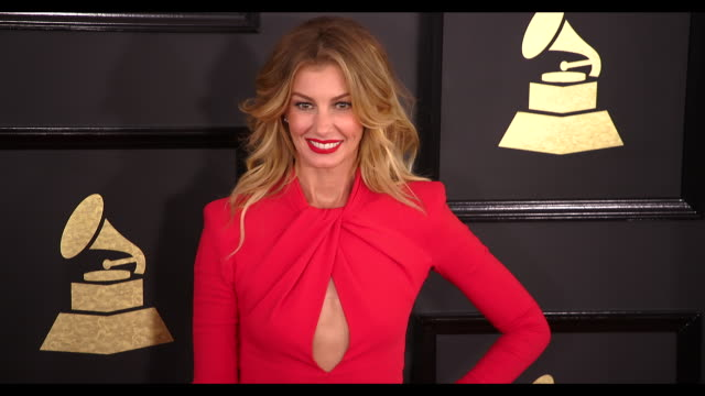 Faith Hill at 59th Annual Grammy Awards Arrivals at Staples Center on February 12 2017 in Los Angeles California 4K