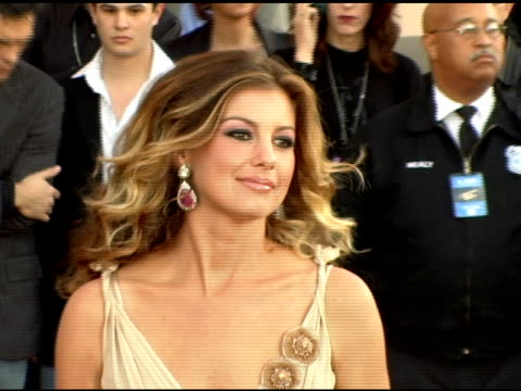 Faith Hill at the 2005 American Music Awards arrivals at the Shrine Auditorium in Los Angeles California on November 22 2005
