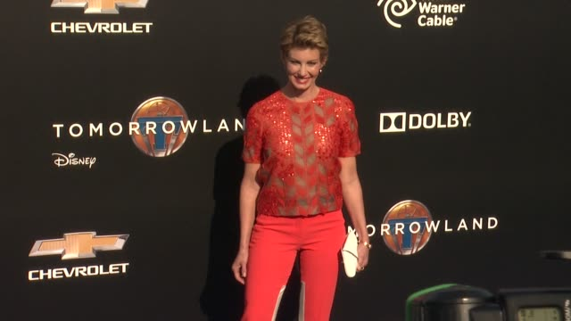faith hill at the tomorrowland los angeles premiere at amc downtown disney 12 theater on may 09 2015 in anaheim california - anaheim california stock videos and b-roll footage