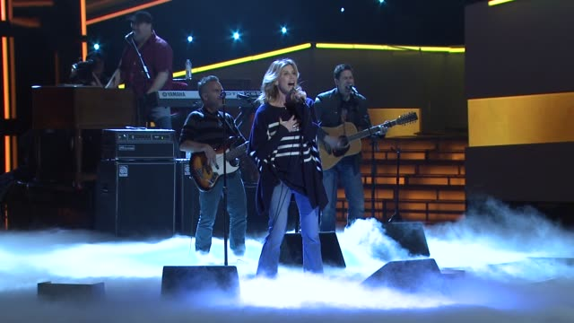 Faith Hill rehearsal at People's Choice Awards 2012 Rehearsals in Los Angeles CA on 1/10/12