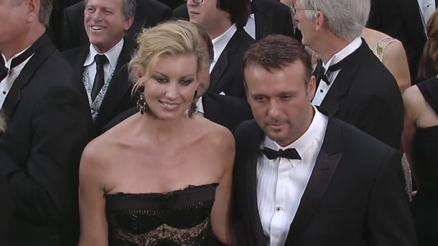 faith hill tim mcgraw at the 82nd annual academy awards arrivals part 2 at los angeles ca - tim mcgraw stock videos and b-roll footage