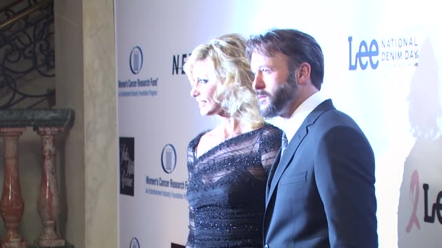 faith hill tim mcgraw at the an unforgettable evening benefiting eif's women's cancer research fund at beverly hills ca - tim mcgraw stock videos and b-roll footage