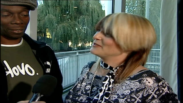 vídeos de stock e filmes b-roll de 'faithless' new album / interview sister bliss interview sot in london we're playing wembley arena / they've refurbished it so it's better than last... - wembley arena