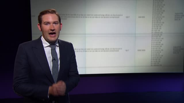 probrexit facebook adverts revealed by mps england london int reporter to camera - artificial stock videos & royalty-free footage