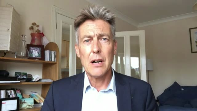probrexit facebook adverts revealed by mps england int ben bradshaw mp interview via internet sot - artificial stock videos & royalty-free footage