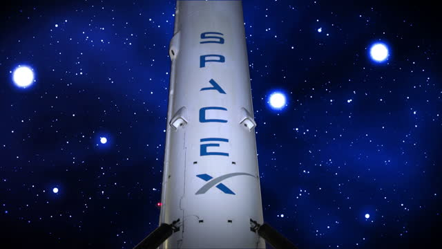 spacex falcon 9 rocket - space exploration stock videos & royalty-free footage