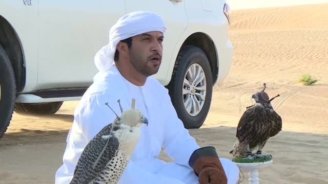 Falconers from more than 100 countries participated Monday in the 4th International Falconry Festival held in Abu Dhabi