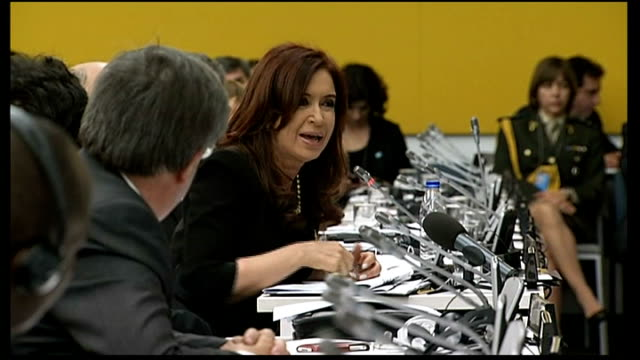 Argentine President accuses UK of 'colonialism' in open letter LIB USA New York United Nations Argentine President Cristina Fernandez de Kirchner...