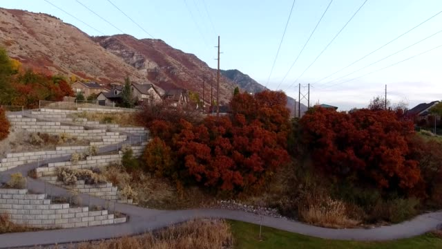 fall colors in provo utah - provo stock videos & royalty-free footage
