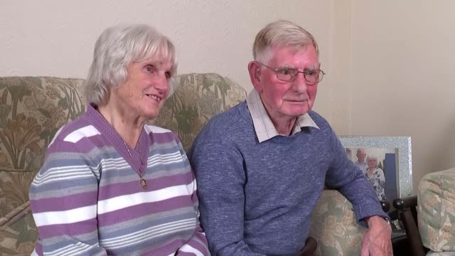 fall in number of married couples as number of single people rockets england warwickshire int roy button and dorothy button interview sot roy button... - warwickshire stock videos & royalty-free footage
