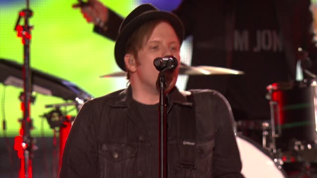 PERFORMANCE Fall Out Boy at Cartoon Network Hosts Fourth Annual Hall Of Game Awards in Los Angeles CA