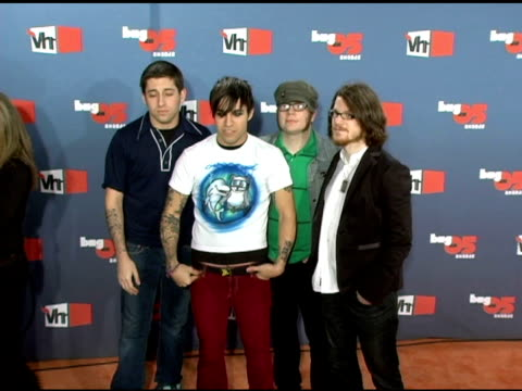 Fall Out Boy at the VH1 Big in '05 at Sony Studios in Los Angeles California on December 3 2005