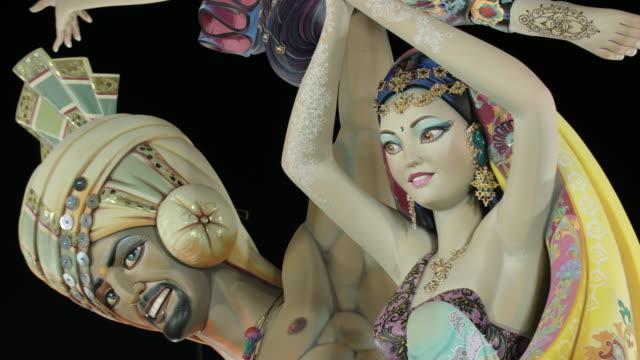 vídeos de stock, filmes e b-roll de falla - figura feminina