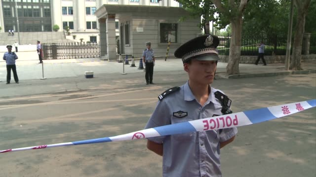 fallen chinese politician bo xilai accuses his former police chief of being a liar and fraudster before the judge adjourns for the day on the fourth... - legal trial stock videos & royalty-free footage