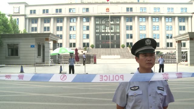 fallen chinese politician bo xilai admitted some responsibility saturday for five million yuan $800000 of embezzled public funds his first confession... - confession law stock videos & royalty-free footage