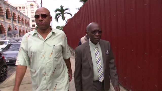 fallen trinidad and tobago football boss jack warner got a temporary reprieve wednesday from a bid by us authorities to try him for alleged... - fifa stock videos & royalty-free footage