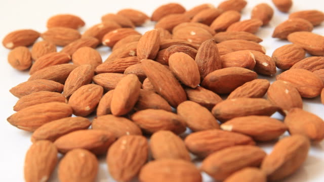 falling almond. - almond stock videos and b-roll footage