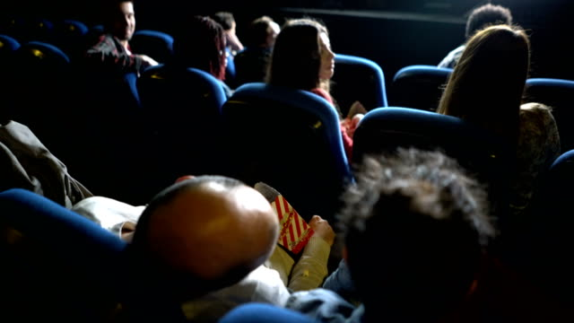 falling asleep at the cinema - snoring stock videos and b-roll footage