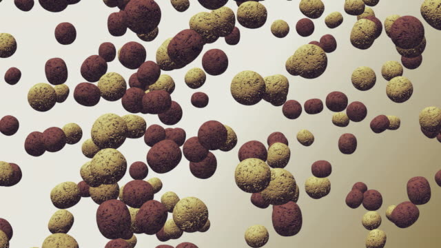 cgi falling cereal against white background - digital animation stock videos & royalty-free footage
