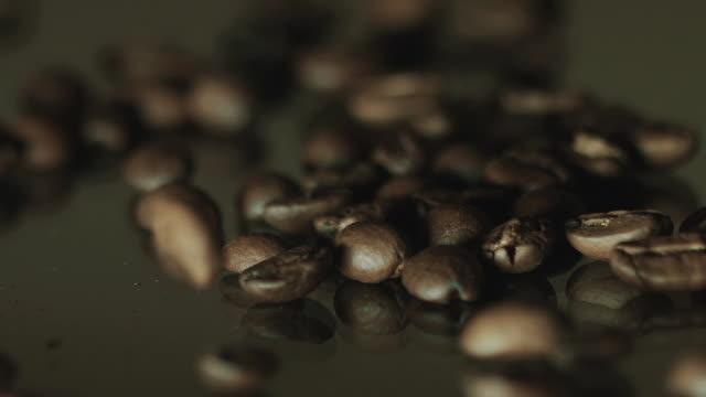 falling coffee beans - banja luka stock videos & royalty-free footage