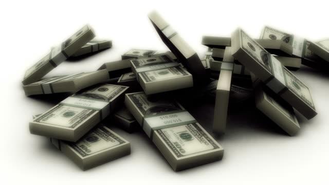 Falling Dollar Stack
