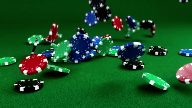 falling gambling chips - gambling chip stock videos & royalty-free footage