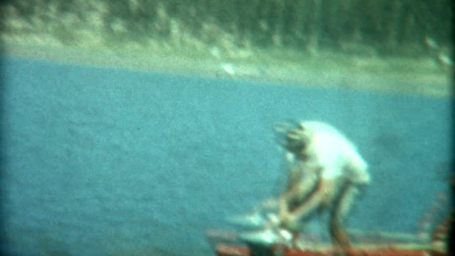 falling into lake 1950 - archives stock videos & royalty-free footage