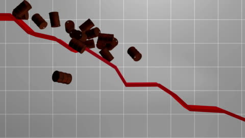falling oil price - crude oil stock videos & royalty-free footage