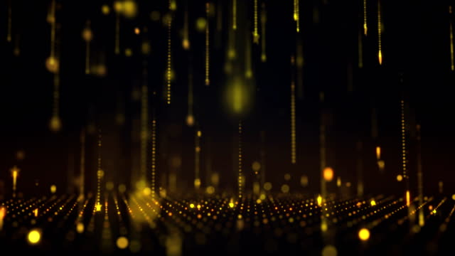 falling particles loopable background 4k - nomination stock videos & royalty-free footage