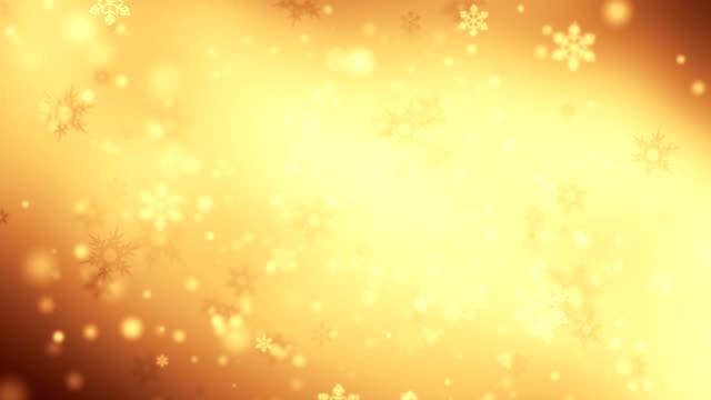 Falling snowflakes loop