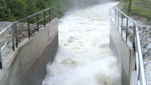 falling water - dam stock videos & royalty-free footage