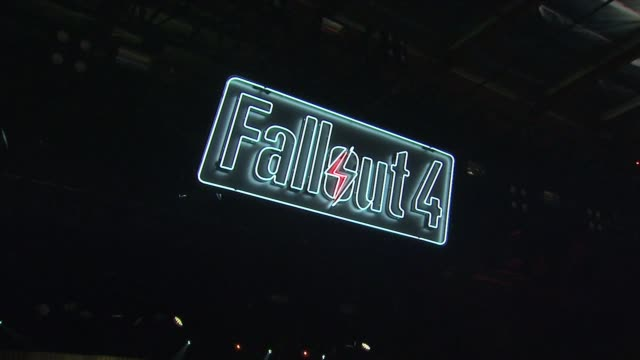 vídeos y material grabado en eventos de stock de atmosphere fallout 4 video game launch event on november 05 2015 in los angeles california - lluvia radioactiva