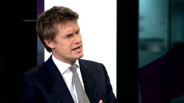 UK falls behind in Pisa league tables ENGLAND London GIR INT Tristram Hunt MP and Nick Gibb MP LIVE studio interviews SOT