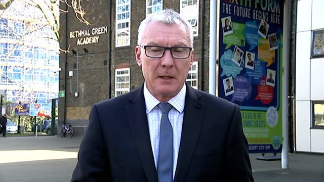 families of schoolgirls who ran away to syria appear before committee of mps england london bethnal green day reporter to camera sot - bethnal green stock videos & royalty-free footage