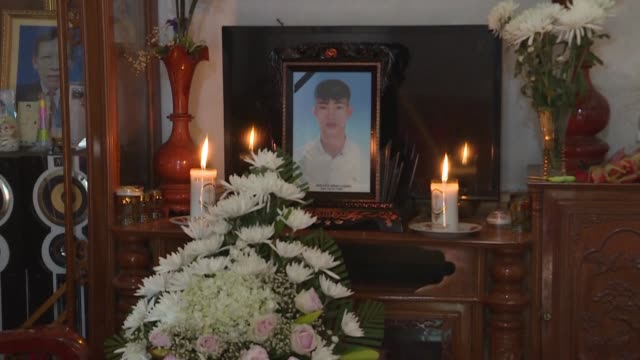 families of suspected vietnamese victims still hold hope for their missing children after 39 people were found dead inside a truck in essex england - north vietnam stock videos & royalty-free footage