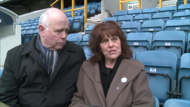 families of young victims of crime remember them at 'for jimmy' day the den margaret mizen interview sot on day jimmy died i promised to keep his... - itv london tonight weekend点の映像素材/bロール